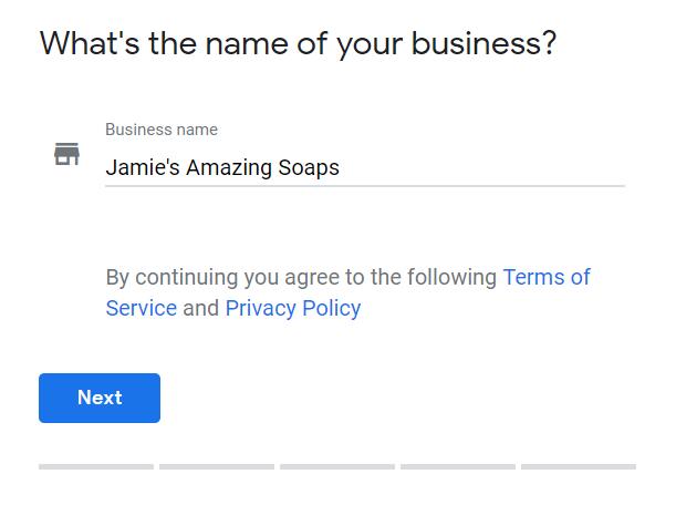 google my business profle